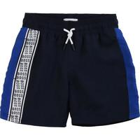 Oblečenie Chlapci Šortky a bermudy BOSS MOZEL Modrá