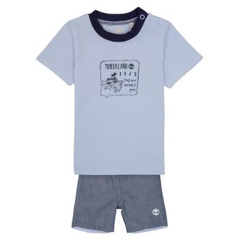 Oblečenie Chlapci Komplety a súpravy Timberland AXEL Modrá