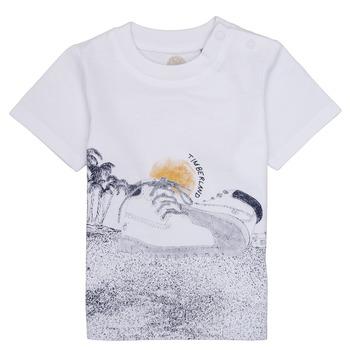 Oblečenie Chlapci Tričká s krátkym rukávom Timberland ANTONIN Biela