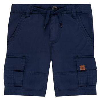 Oblečenie Chlapci Šortky a bermudy Timberland  Modrá