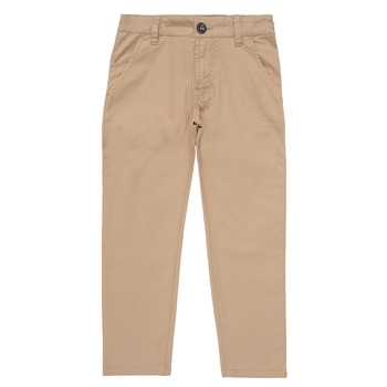 Oblečenie Chlapci Nohavice Chinos a Carrot Timberland  Béžová