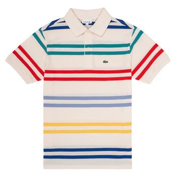Oblečenie Chlapci Polokošele s krátkym rukávom Lacoste HENRI Viacfarebná