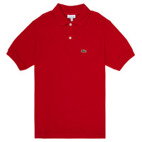 Oblečenie Chlapci Polokošele s krátkym rukávom Lacoste ANAICK Červená