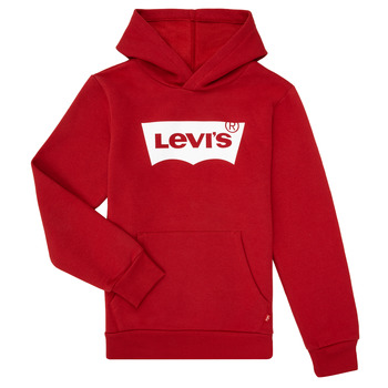 Oblečenie Chlapci Mikiny Levi's BATWING SCREENPRINT HOODIE Červená