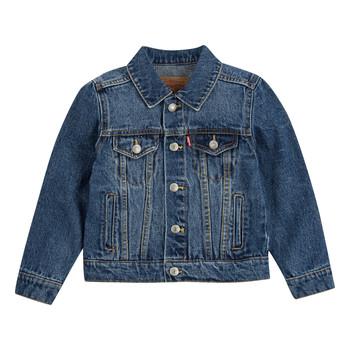 Oblečenie Chlapci Džínsové bundy Levi's TRUCKER JACKET Bristol