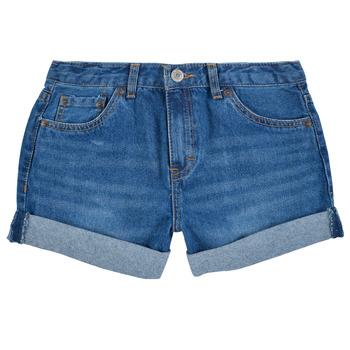 Oblečenie Dievčatá Šortky a bermudy Levi's GIRLFRIEND SHORTY SHORT Modrá