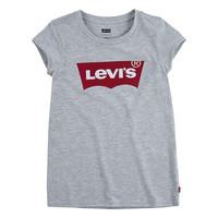 Oblečenie Dievčatá Tričká s krátkym rukávom Levi's BATWING TEE Šedá
