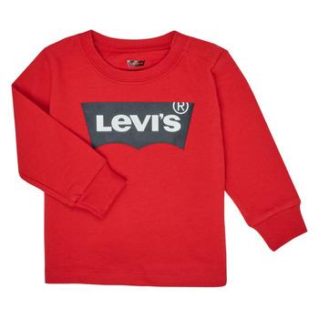 Oblečenie Chlapci Tričká s dlhým rukávom Levi's BATWING TEE LS Červená