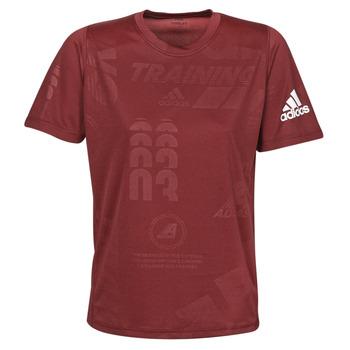 Oblečenie Muži Tričká s krátkym rukávom adidas Performance DAILY PRESS TEE Červená