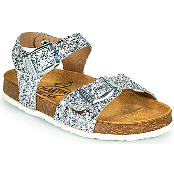 Topánky Dievčatá Sandále Plakton LISA Strieborná