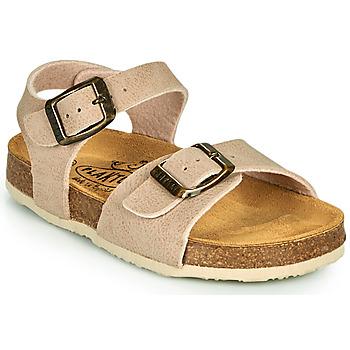 Topánky Deti Sandále Plakton LOUIS Béžová