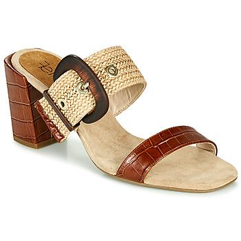 Topánky Ženy Šľapky Fericelli MARCO Béžová