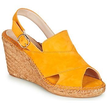 Topánky Ženy Sandále Fericelli MARIE Žltá