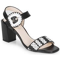 Topánky Ženy Sandále Fericelli MAIRA Čierna / Et  / Biela