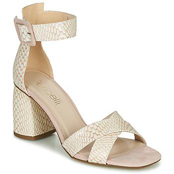 Topánky Ženy Sandále Fericelli JEZI Biela / Ružová