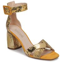 Topánky Ženy Sandále Fericelli JEZI Žltá