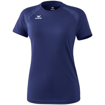 Oblečenie Ženy Tričká s krátkym rukávom Erima T-shirt femme  Performance bleu