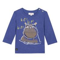 Oblečenie Chlapci Tričká s krátkym rukávom Catimini MEYER Modrá