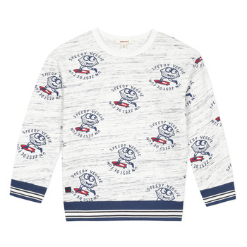 Oblečenie Chlapci Mikiny Catimini KATEL Biela