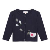 Oblečenie Dievčatá Cardigany Catimini LOUNA Modrá