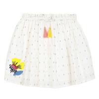 Oblečenie Dievčatá Sukňa Catimini ALINA Biela