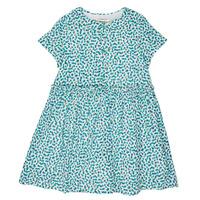 Oblečenie Dievčatá Krátke šaty Catimini ELLA Zelená / Modrá