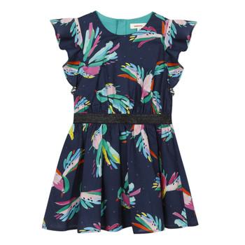 Oblečenie Dievčatá Krátke šaty Catimini CESAR Modrá