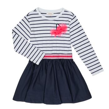 Oblečenie Dievčatá Krátke šaty Catimini BASILE Biela