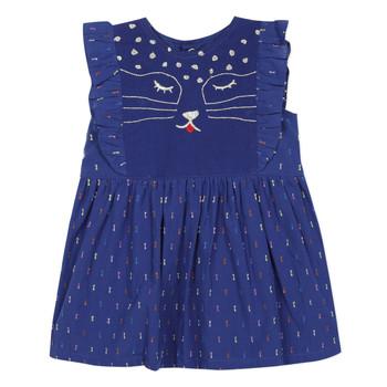 Oblečenie Dievčatá Krátke šaty Catimini CHARLES Modrá