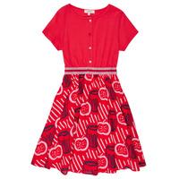 Oblečenie Dievčatá Krátke šaty Catimini MANOA Červená
