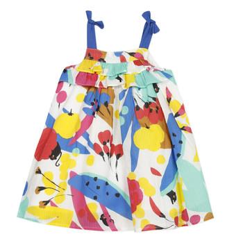 Oblečenie Dievčatá Krátke šaty Catimini THEO Biela