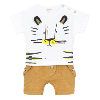 Oblečenie Chlapci Komplety a súpravy Catimini AYDEN Béžová