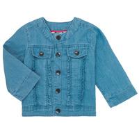 Oblečenie Dievčatá Bundy  Catimini ELIOTT Modrá