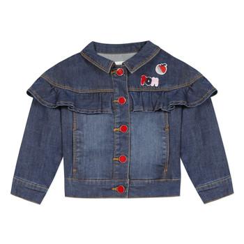 Oblečenie Dievčatá Bundy  Catimini VALENTIN Modrá