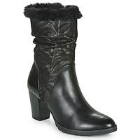 Topánky Ženy Čižmy do mesta Caprice LOTIMA Čierna