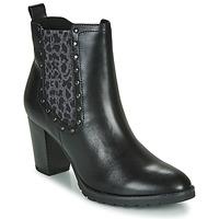 Topánky Ženy Čižmičky Caprice LUTIMA Čierna