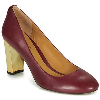 Topánky Ženy Lodičky Lauren Ralph Lauren 802688958-004 Bordová