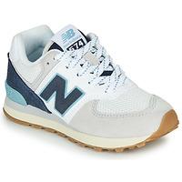 Topánky Nízke tenisky New Balance GC574SOU Biela / Modrá