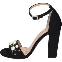 Topánky Ženy Sandále Olga Rubini Sandále BP356 Čierna