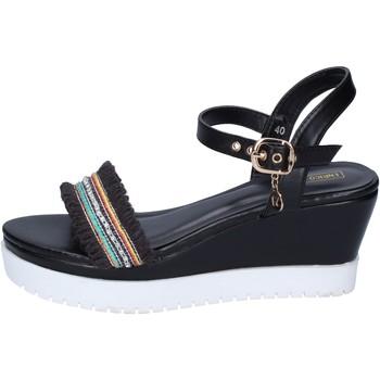 Topánky Ženy Sandále Enrico Coveri Sandále BP389 Čierna