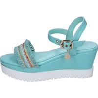 Topánky Ženy Sandále Enrico Coveri Sandále BP390 Nebeský