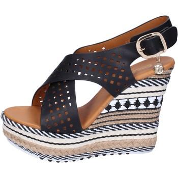 Topánky Ženy Sandále Enrico Coveri Sandále BP391 Čierna