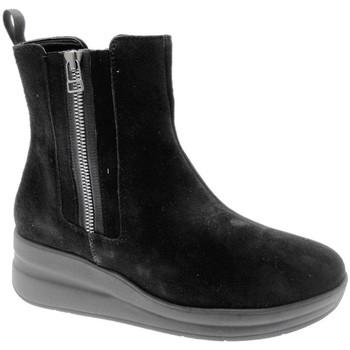 Topánky Ženy Polokozačky Melluso MWR25611ne nero