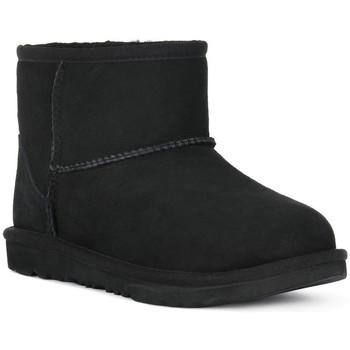 Topánky Dievčatá Čižmičky UGG MINI CLASSIC II BLK Nero