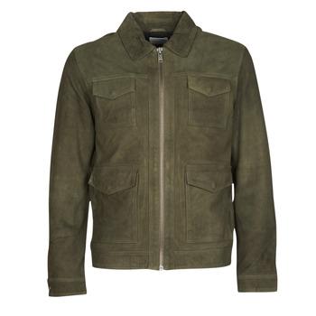 Oblečenie Muži Kožené bundy a syntetické bundy Selected SLHRALF Kaki