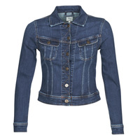 Oblečenie Ženy Džínsové bundy Lee SLIM RIDER JACKET Modrá