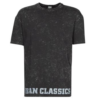 Oblečenie Muži Tričká s krátkym rukávom Urban Classics TOBI Čierna
