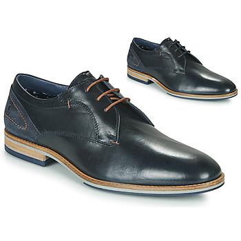 Topánky Muži Derbie Casual Attitude MORANI Čierna