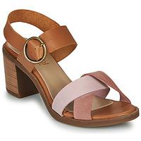 Topánky Ženy Sandále Casual Attitude MEL Ťavia hnedá / Ružová