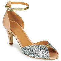 Topánky Ženy Sandále Emma Go JOLENE GLITTER Ružová / Strieborná / Zlatá